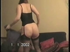 Hubby lets well-recognized make love wife's huge tush