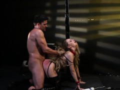 Restrained sub punished before rough drilling