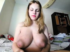 Blonde MILF With Big Natural Boobs