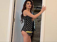 Latina's Lingerie Fashion Show By Her Lavish Wardrobe