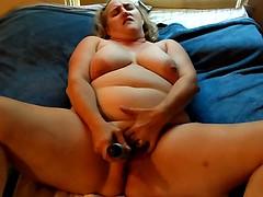 Candy masturbating