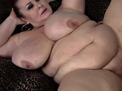 BBW mature l lynn takes a big dick