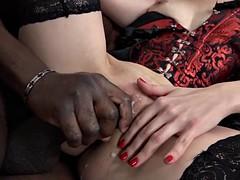 Anal, Beauté, Noire, Tir de sperme, Noir ébène, Hard, Interracial, Mère que j'aimerais baiser