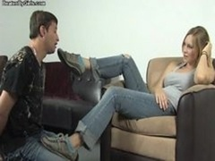 Beatenbygirls.com - foot slapping and foot love