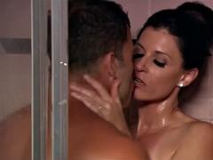 Prominente, Dusche, Erotischer film, Titten, Ehefrau