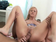 Teen anal and creampie