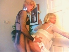 sissy slut wendy jane has an intercourse cyndee in the butt