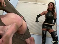Great femdom spanking collection