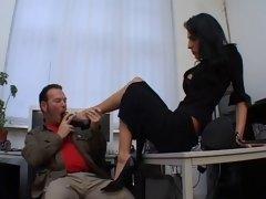 Bondage discipline sadomasochisme, Dominante vrouw, Voeten fetish, Duits