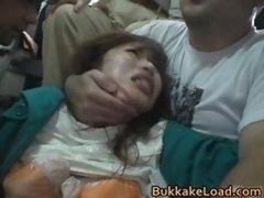 Beautiful Asiatic Gal Attacked On A Bus Ride Fraction6