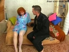 Hot mother drilled by boy