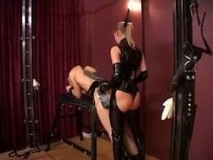Dame Stella and Silvia fucking Slaves