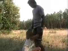Cuckold Films His Whore French Wifey With The African Bull