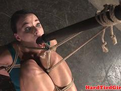 Flexible subslut suspended and punished