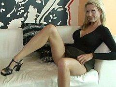 Blonde, Mature, Chatte, Maigrichonne