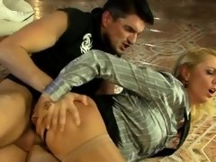 Lezzie act with hotties addicted to the marital-device