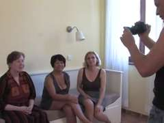 three Grannies Blow and Plow a Youthfull Hard-On and Each Other