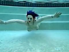 public underwater swim