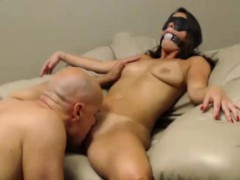 Webcam Slut Takes On Two Cocks