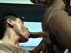 Amateur tattooed Mexican-style shared by black guy