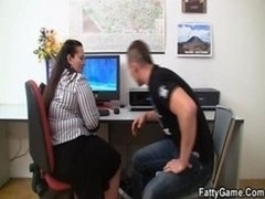 Amazing Sex With Office Whopper