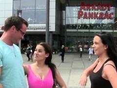 Big tits pornstar pov with cumshot