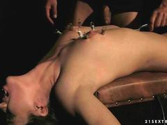 Girl gets tied up and fucked rough by her man