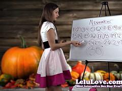 Lelu Love-November 2015 Cum Schedule