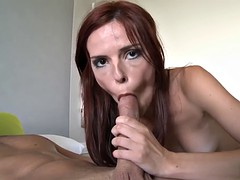 redhead susana melo gets her portuguese plowed by a large thick cock