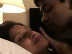 Indian desi Young Couple Njoying Sensual Sex homemade