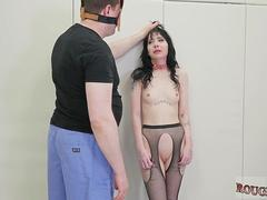 Gym bondage and angel You will also see an amazingly magnificent chick crying screaming