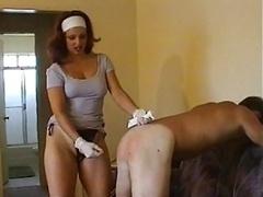 strapon having an intercourse