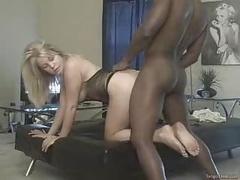 Amateur Blonde Bbc Doggystyle