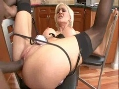 Torrey Pines-Black meat for Sexually available mom cunt