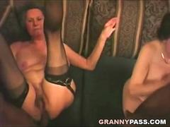 Granny Anal Sex with Big Black Cock