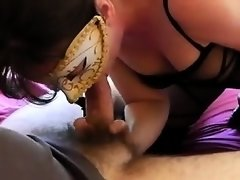 Facial is taken by wife
