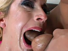 K.W Facefucked Anal DP Whore