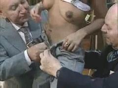 Real hardcore orgy vintage