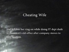Cheating Wife At The Office