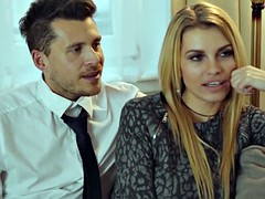 LOS CONSOLADORES - Erotic FFM threesome with Karina Grand