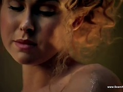 Anna Hutchison & Ayse Tezel Nude - Spartacus - HD