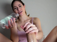 Her First Footjob POV