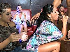 Amateur, Club, Dansant, Robe, Groupe, Mère que j'aimerais baiser, Fête, Se déshabiller