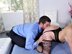 busty milf pornstar fucks