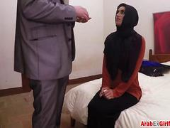 Convincing naive Arab tourist for quick sex