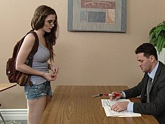 Naughty Student Offers Erotic Pleasure for High Grades