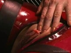 Red Rubber Love button Tickle