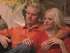 Nasty couples in swinger action that includes hot blondies