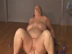 webcam - bbw slut masturbating for husband