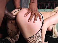 Dahliah Sky First Interracial Anal